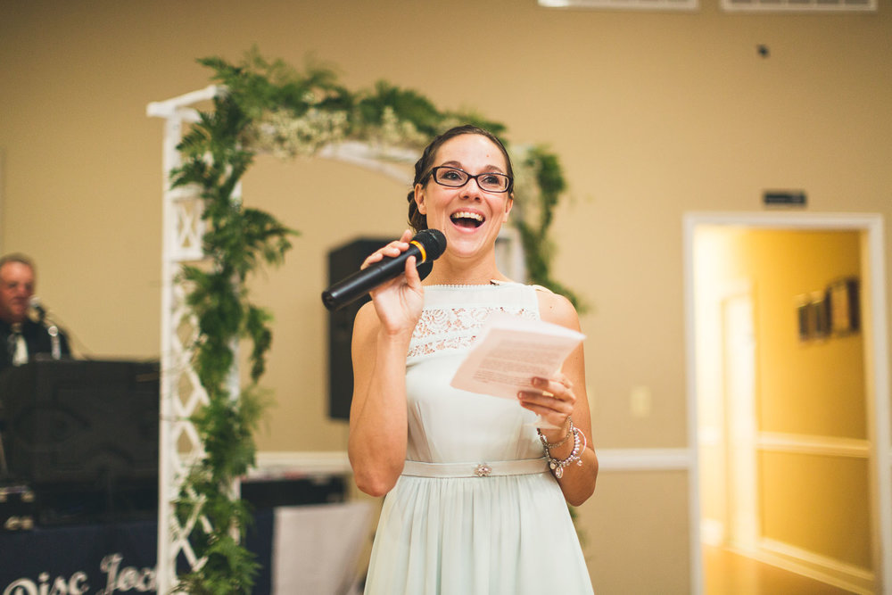 Brides Maid Speech