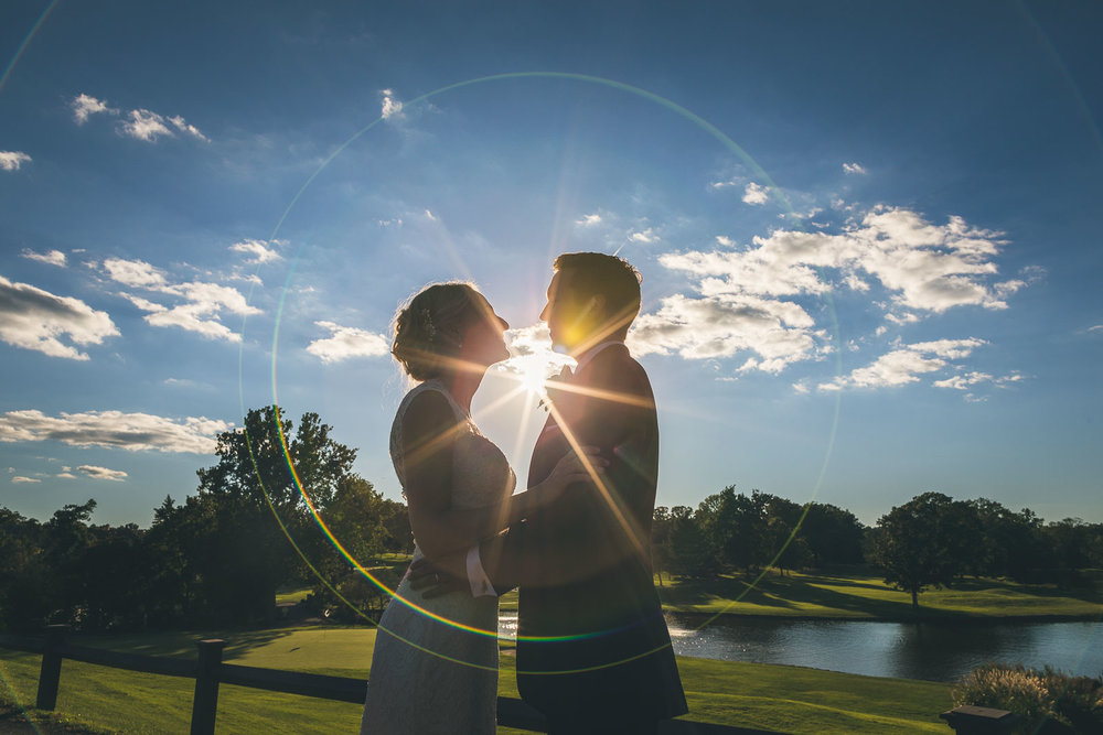 Brooklake Country Club Creative Wedding Photography