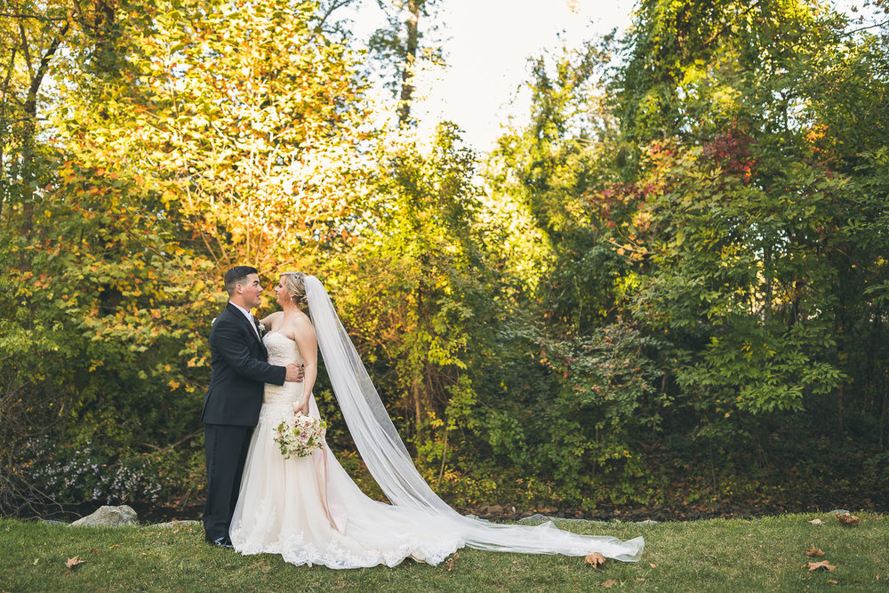 Autumn Wedding at The Grain House