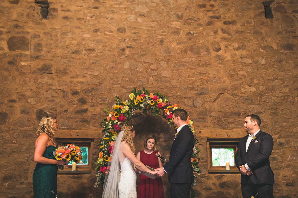Willowwood Arboretum Wedding Ceremony