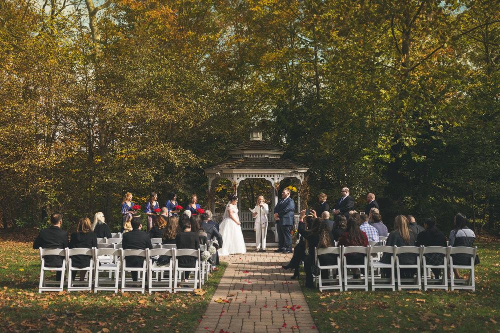 The Grain House Wedding Ceremony Basking Ridge NJ
