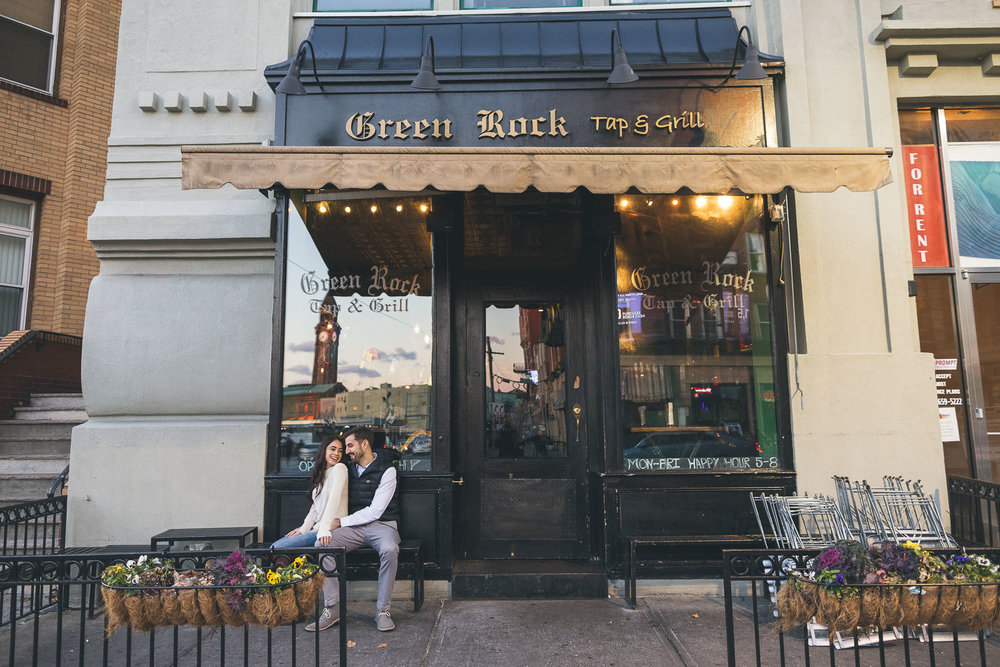Green Rock Hoboken Photography