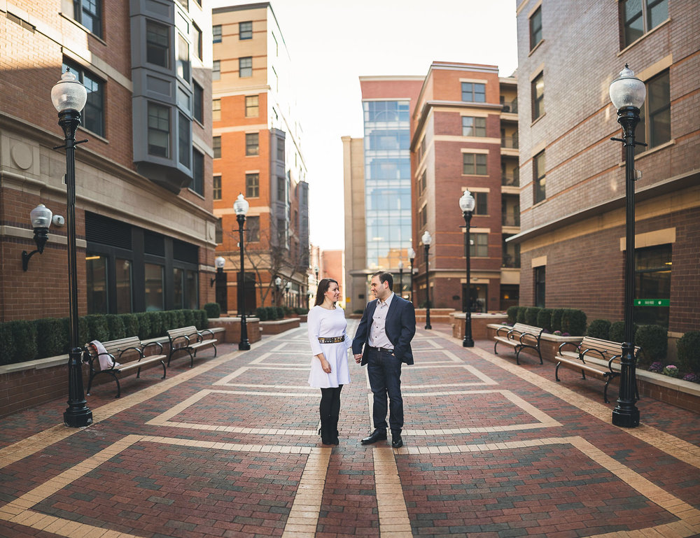 Creative Morristown Engagement Photography