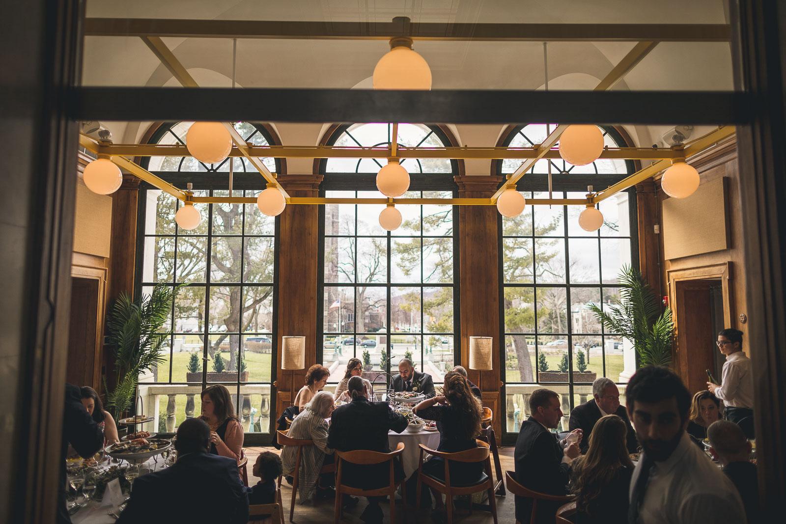Jockey Hollow Dining Room Wedding