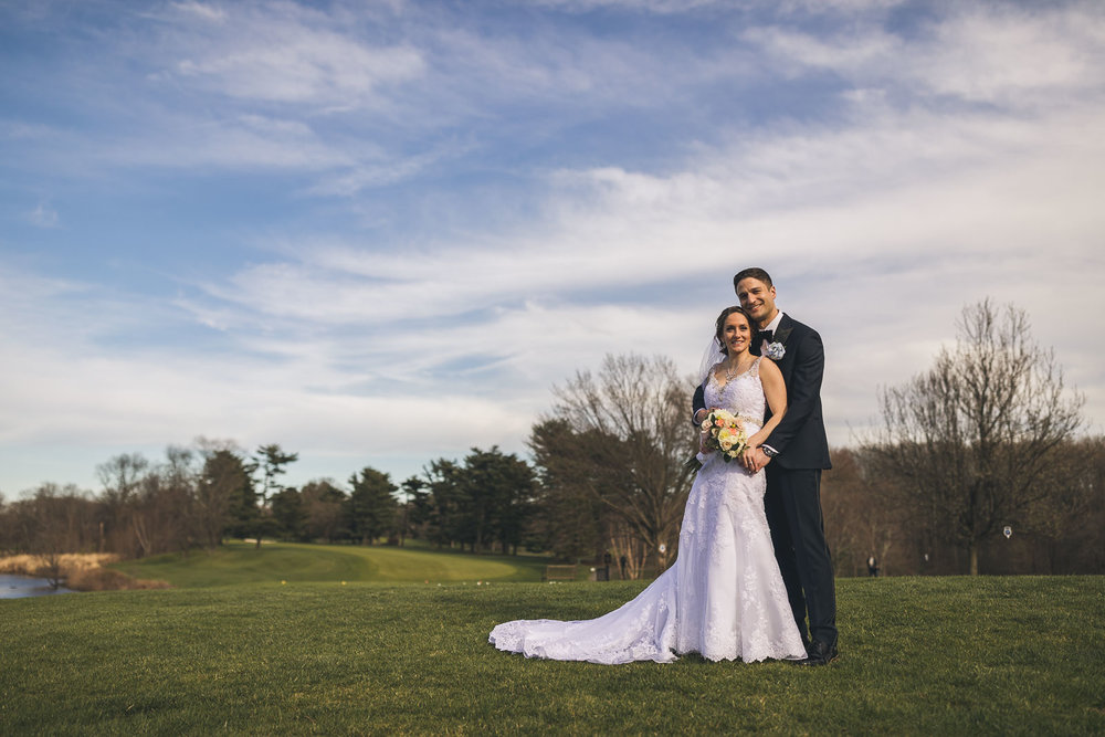 Woodcrest Country Club Wedding Portraits