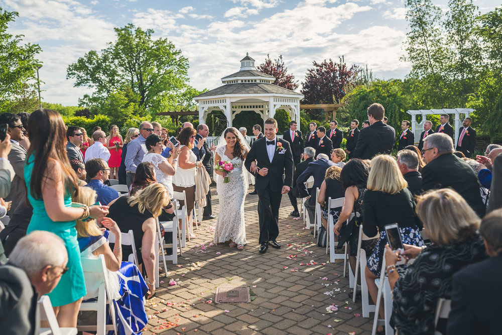 Wedding at The Conservatory at the Sussex County Fairgrounds
