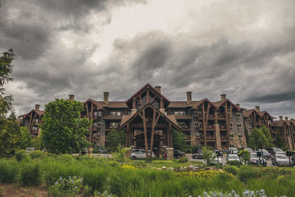 Grand Cascades Lodge Wedding