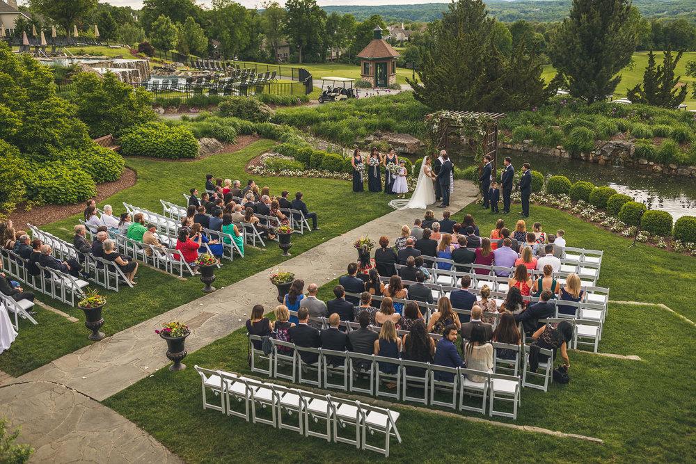 Crystal Springs Resort Wedding Ceremony
