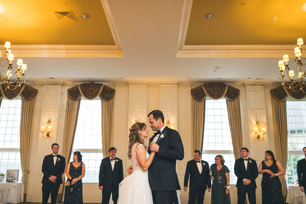 First Dance Crystal Springs Wedding