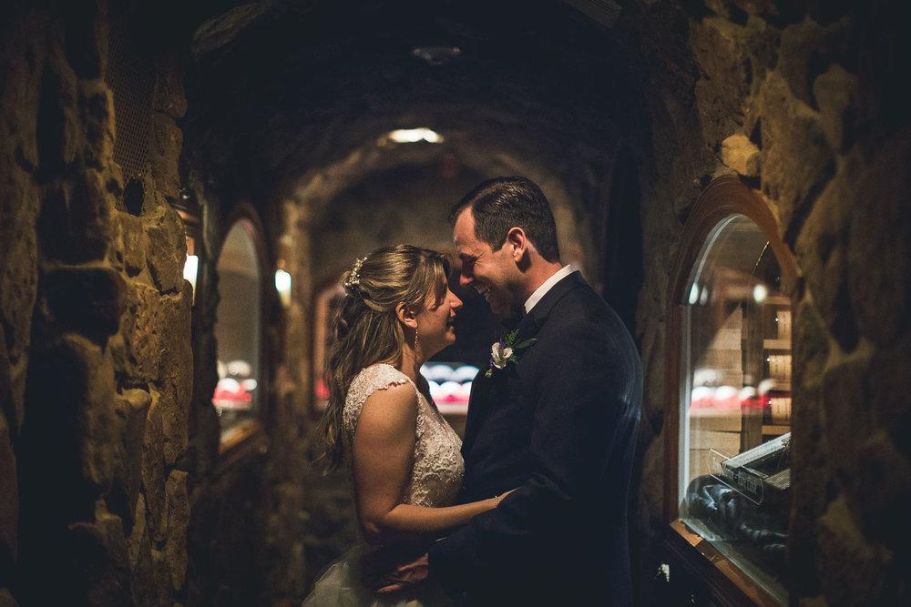 Wine Cellar Wedding Photography