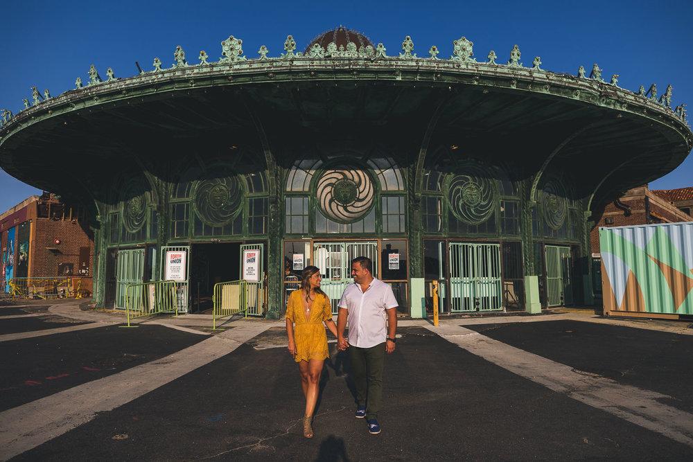 Carousel at Asbury Park