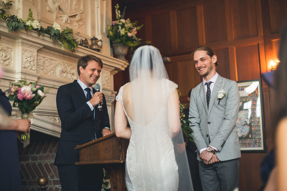 Rutherfurd Hall Wedding Ceremony