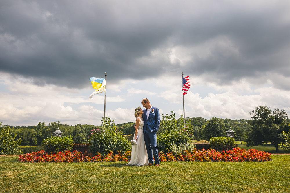 Summer Wedding Hamilton Farm Golf Club