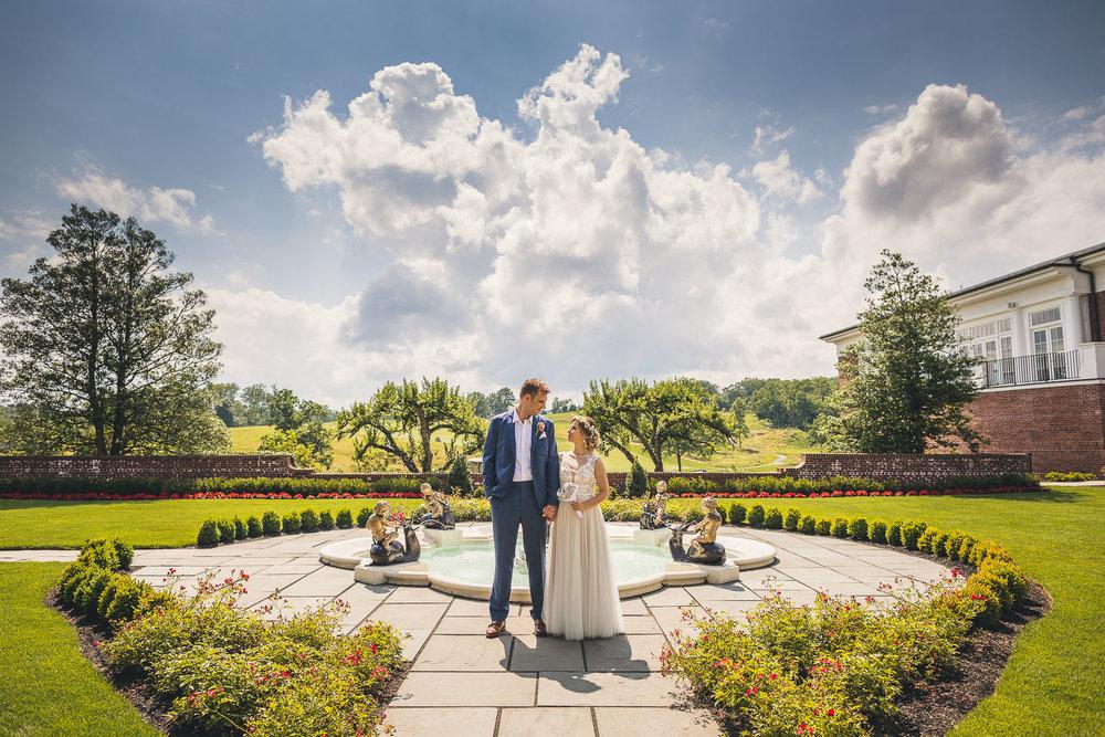 Hamilton Farm Golf Club Wedding Photography