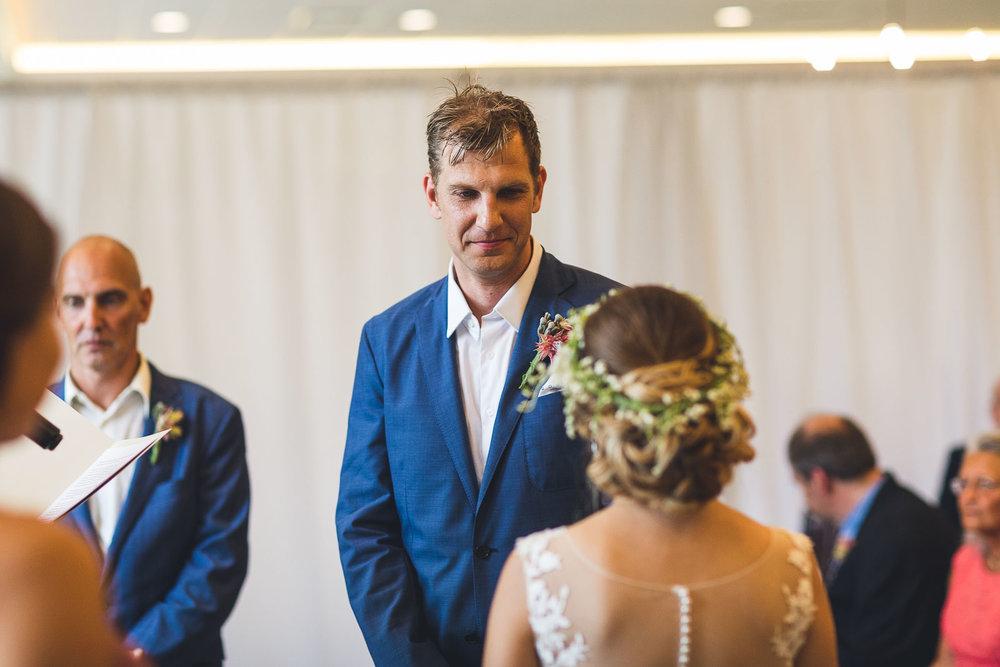 Hamilton Farm Golf Club Wedding Ceremony