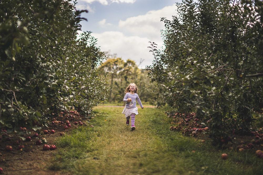 Apple Picking Portraits