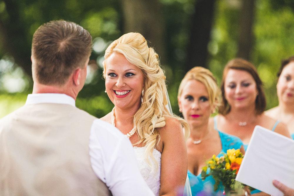 Bride gets married