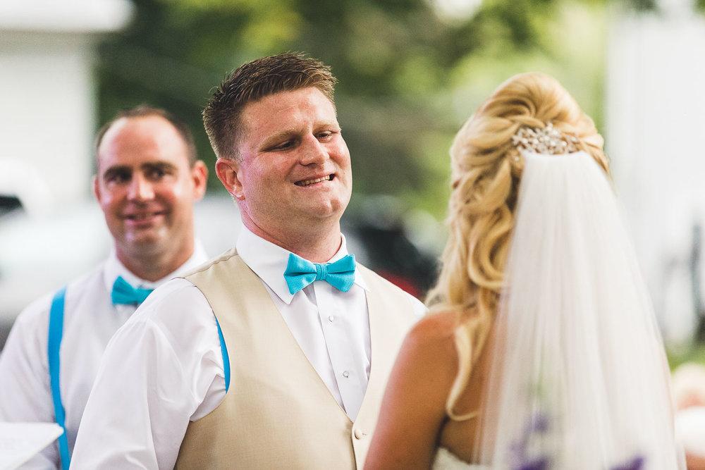 Groom gets married