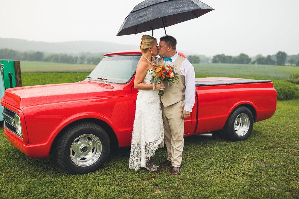 NJ Classic Car Wedding