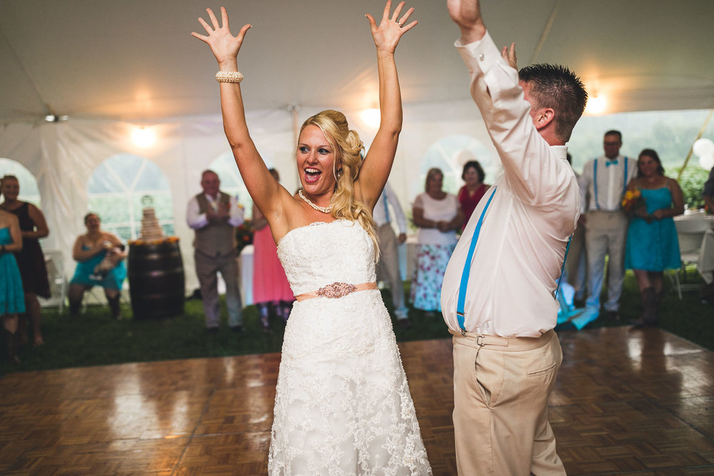 Farm Wedding Dance New Jersey