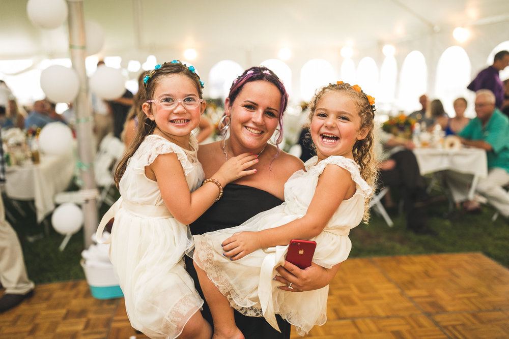 Fun with the Flower Girls