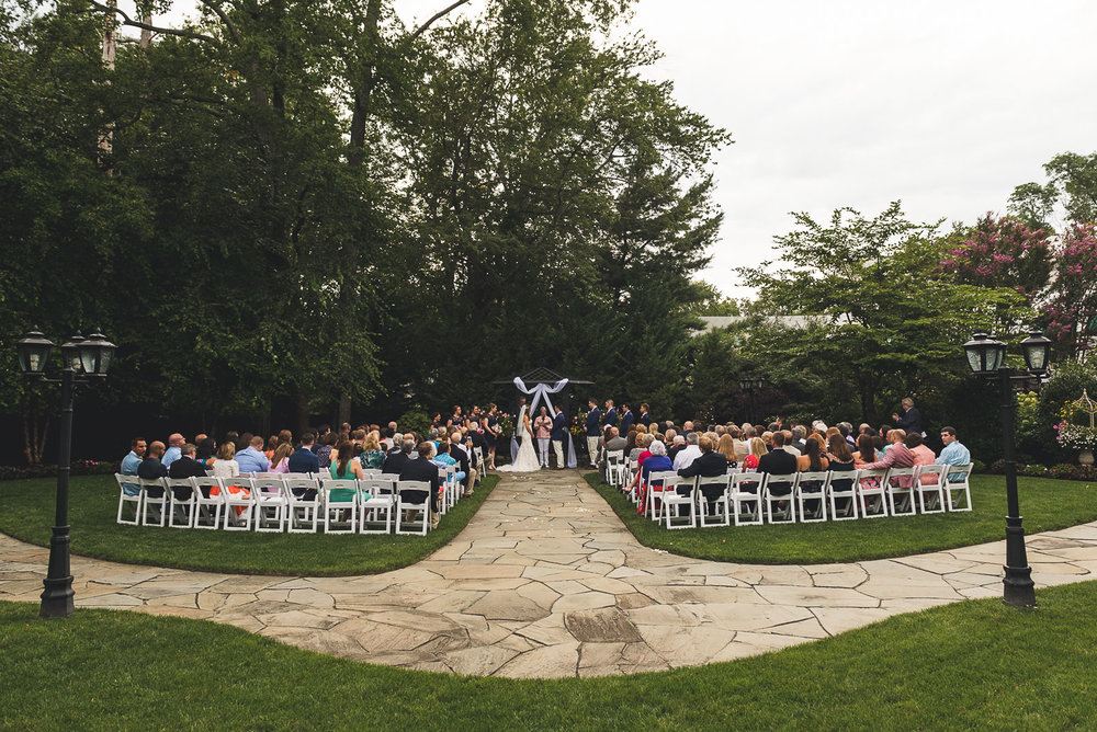 Wedding Ceremony The English Manor Ocean Township NJ