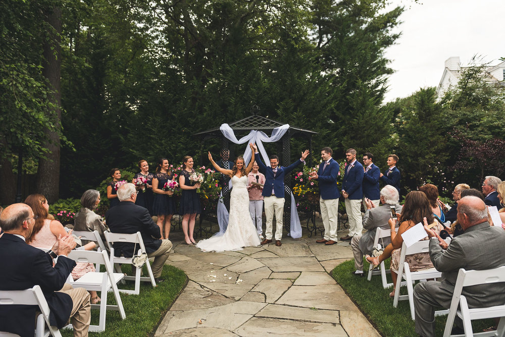 The English Manor Wedding Ceremony