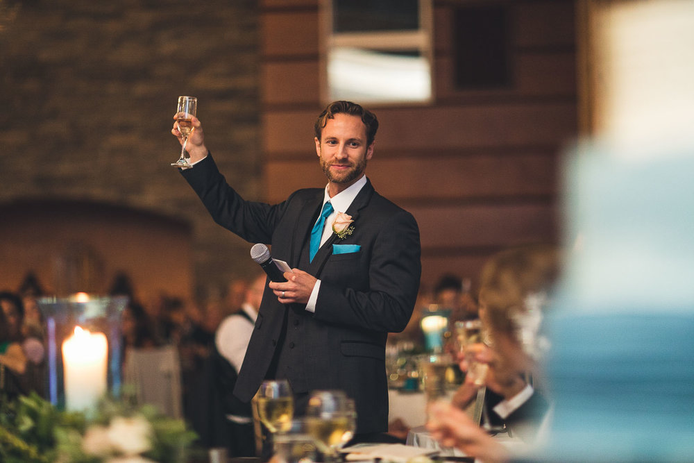 Bestman gives speech