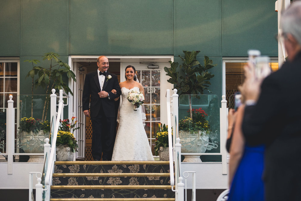 Madison Hotel Conservatory Wedding Ceremony