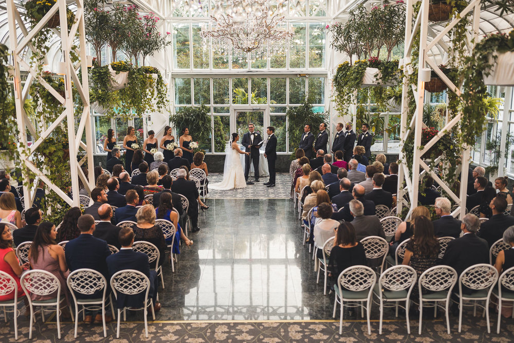 Conservatory at The Madison Hotel Wedding