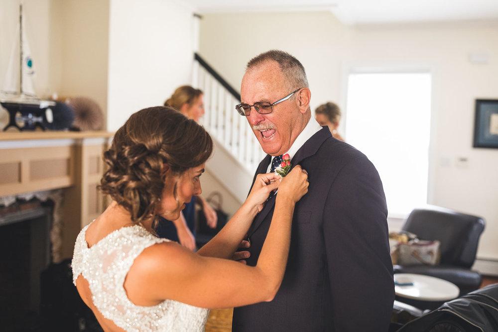 Bride stabbing father