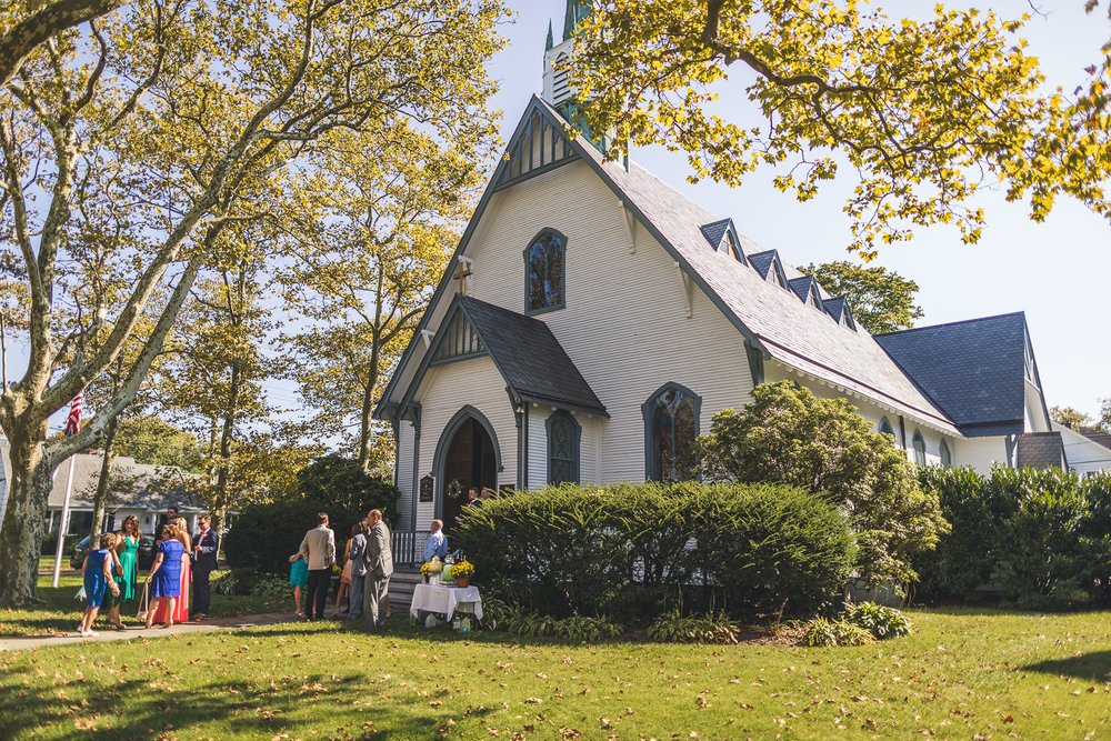 Holy Trinity Episcopal Church Spring Lake, NJ Wedding