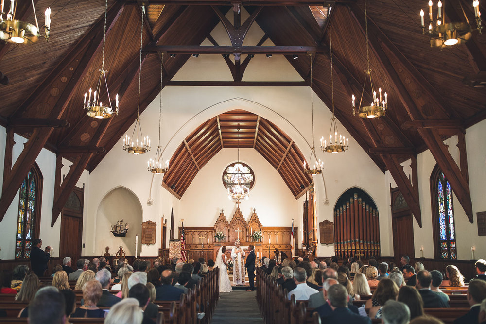 Holy Trinity Episcopal Church Wedding Spring Lake, NJ
