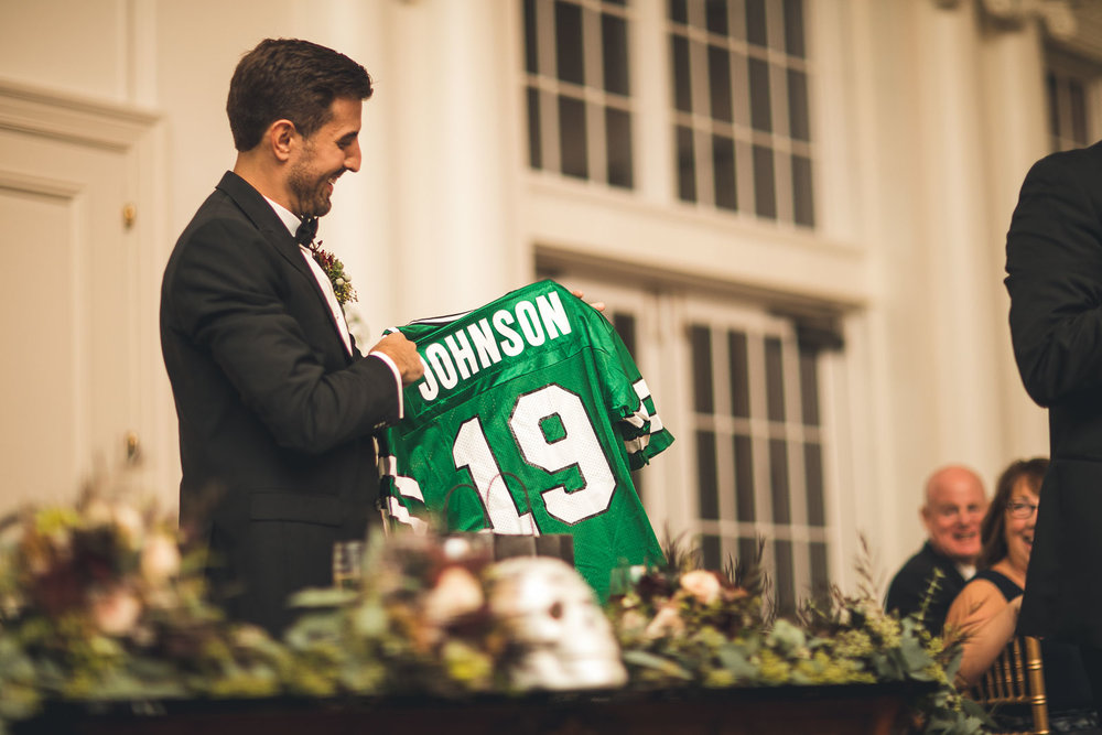 Wedding gift Jets Jersey