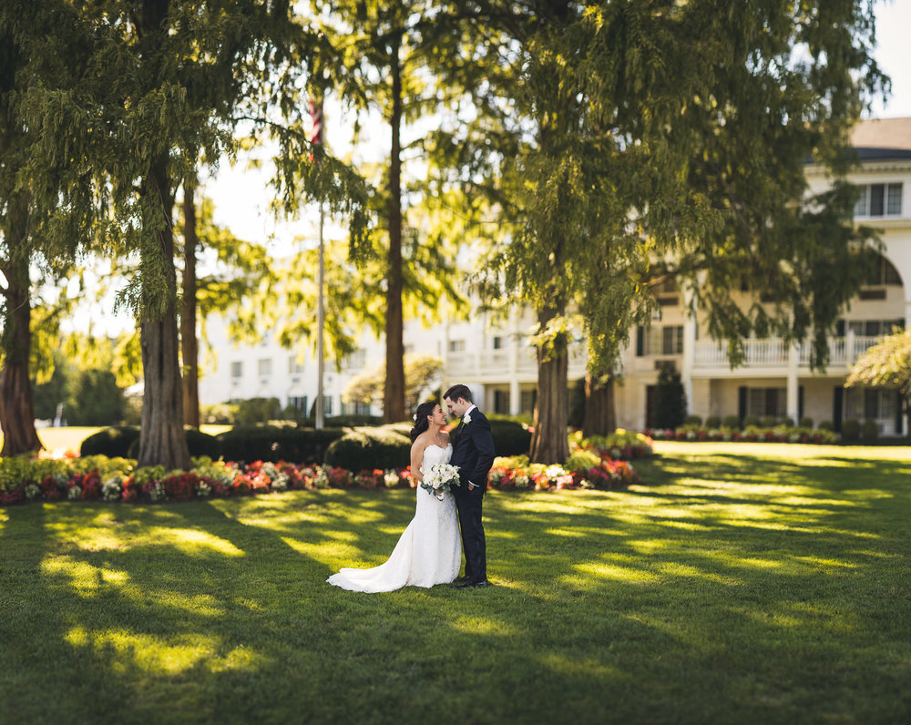Madison Hotel Creative Wedding Portraits