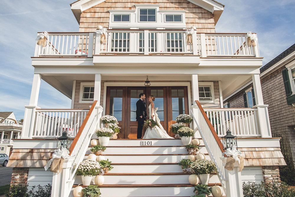 Beach House Wedding Long Beach Island