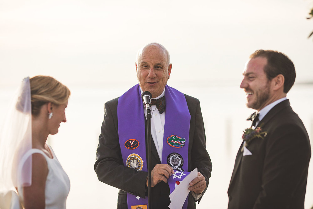 Long Beach Island Wedding Ceremony