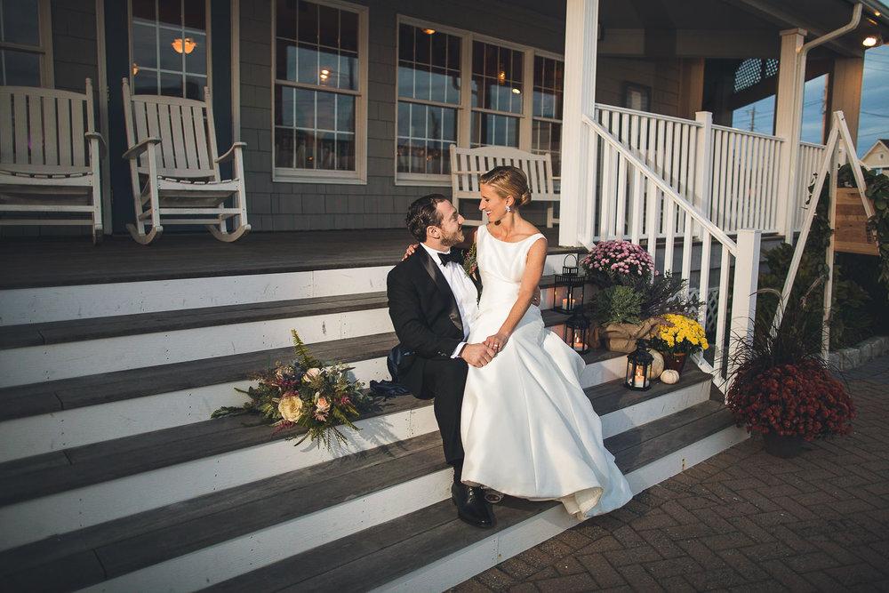 Brant Beach Yacht Club Wedding Portraits