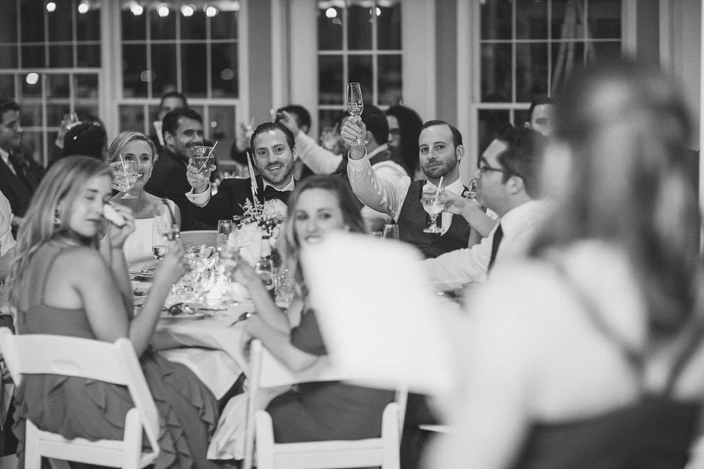 Wedding Toast Brant Beach Yacht Club