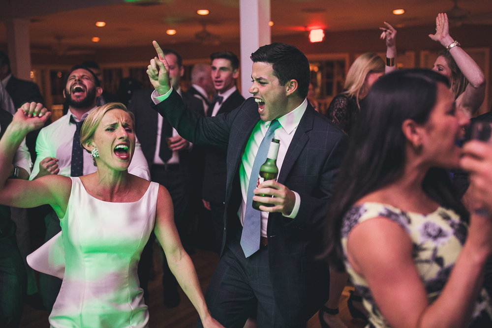 Brant Beach Yacht Club Wedding Reception