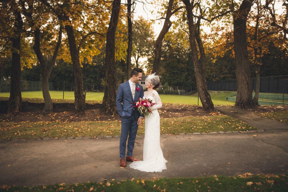 Simple Wedding Portrait New Jersey Photographer