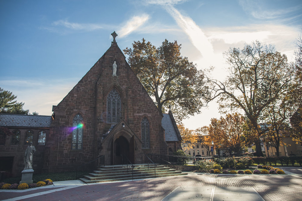 Seton Hall University Chapel Wedding