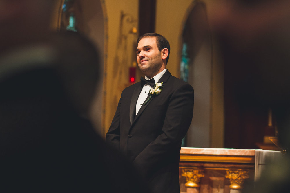 Seton Hall Wedding Groom