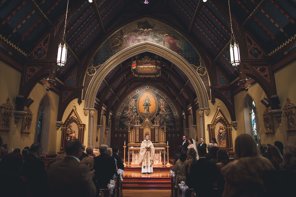 Seton Hall Chapel Wedding