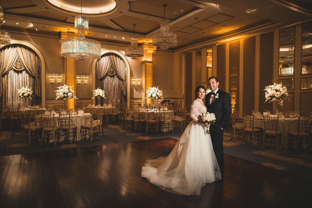 The Grove Ballroom Wedding Photo