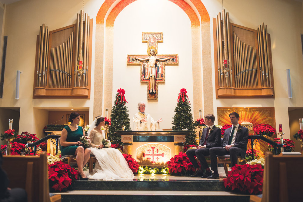 Wedding at Church of St. David the King in Princeton NJ