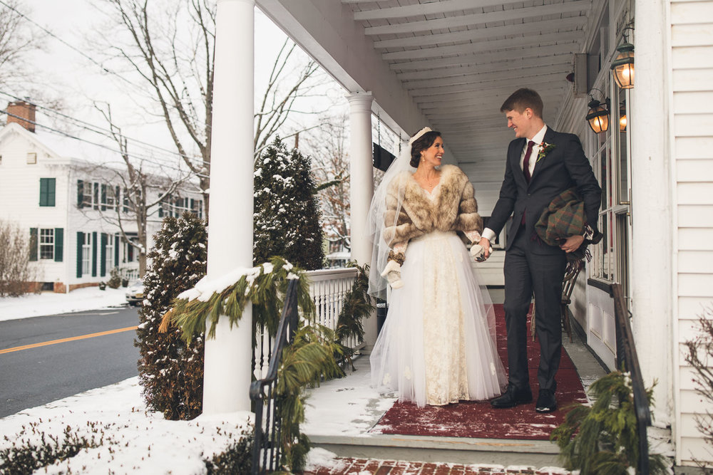 Winter Wedding Cranbury Inn
