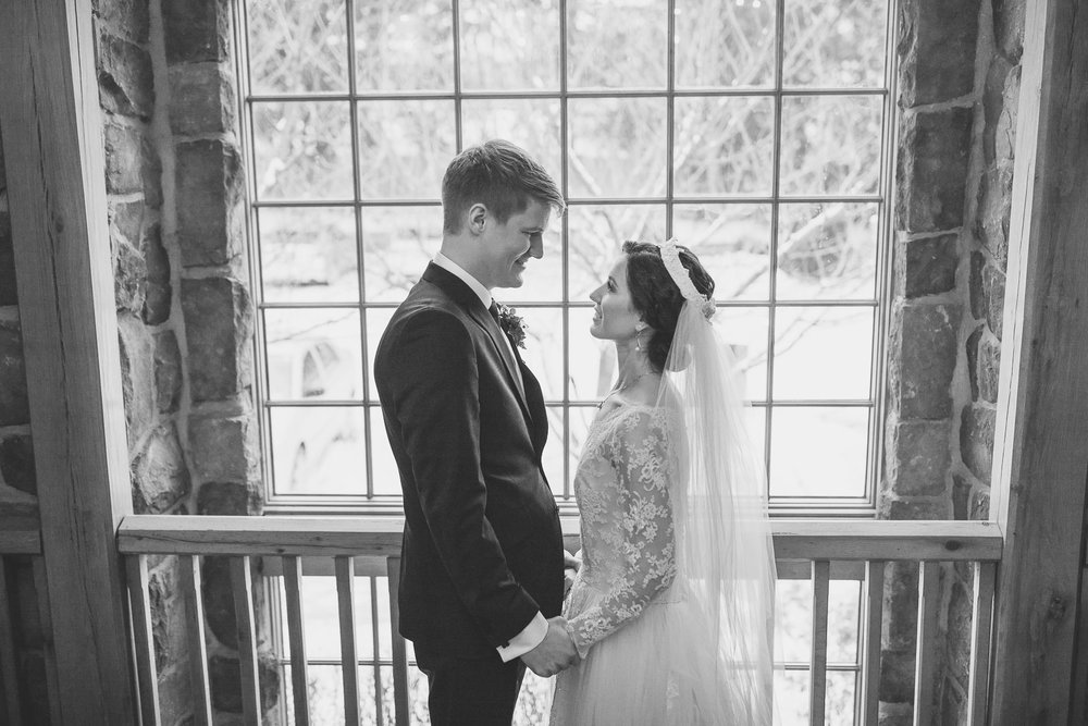 Window at Cranbury Inn Wedding