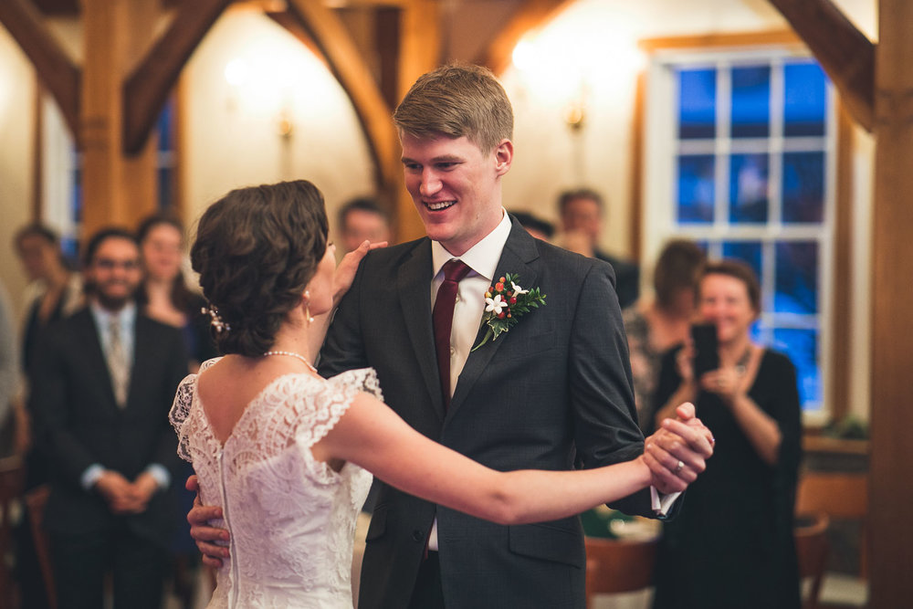 First Dance Cranbury Inn Wedding