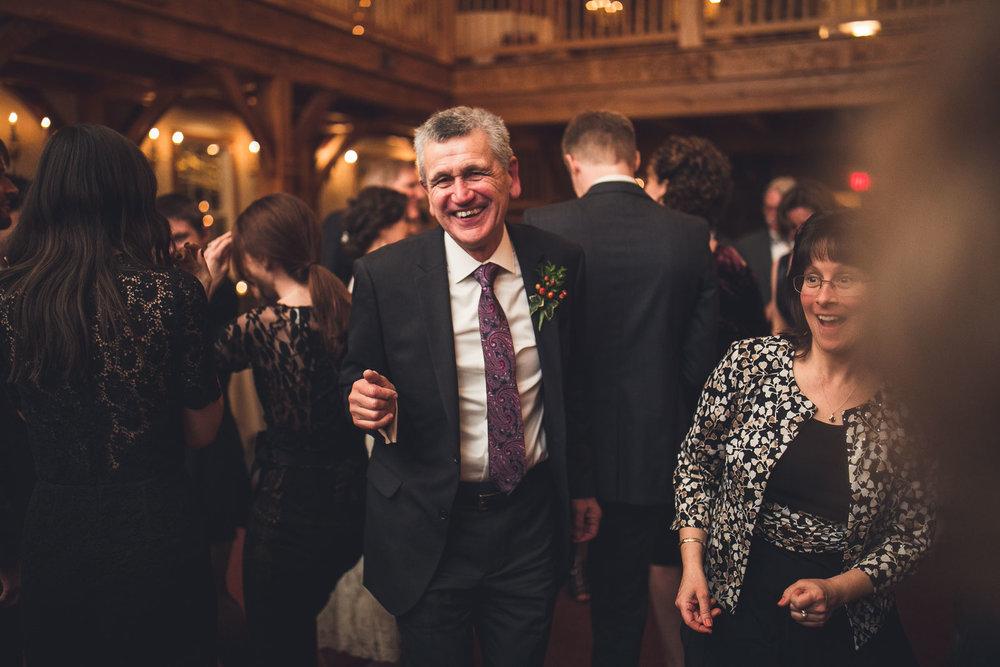 Father dances Cranbury Inn Wedding
